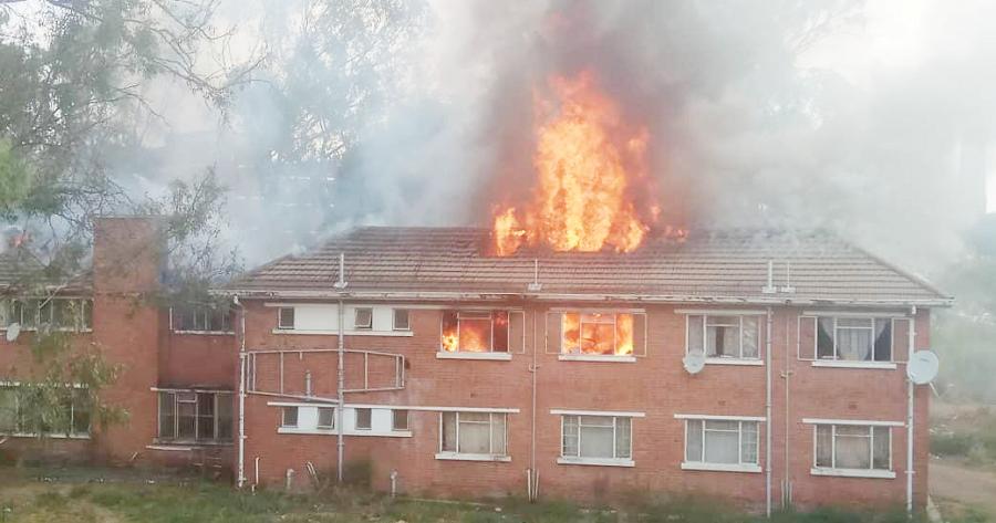 FIRE GUTS MPILO DOCS QUARTERS