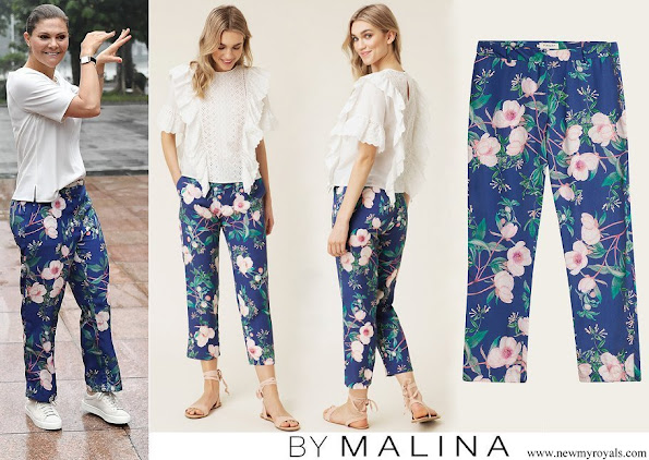 Crown Princess Victoria wore By Malina Leah pants