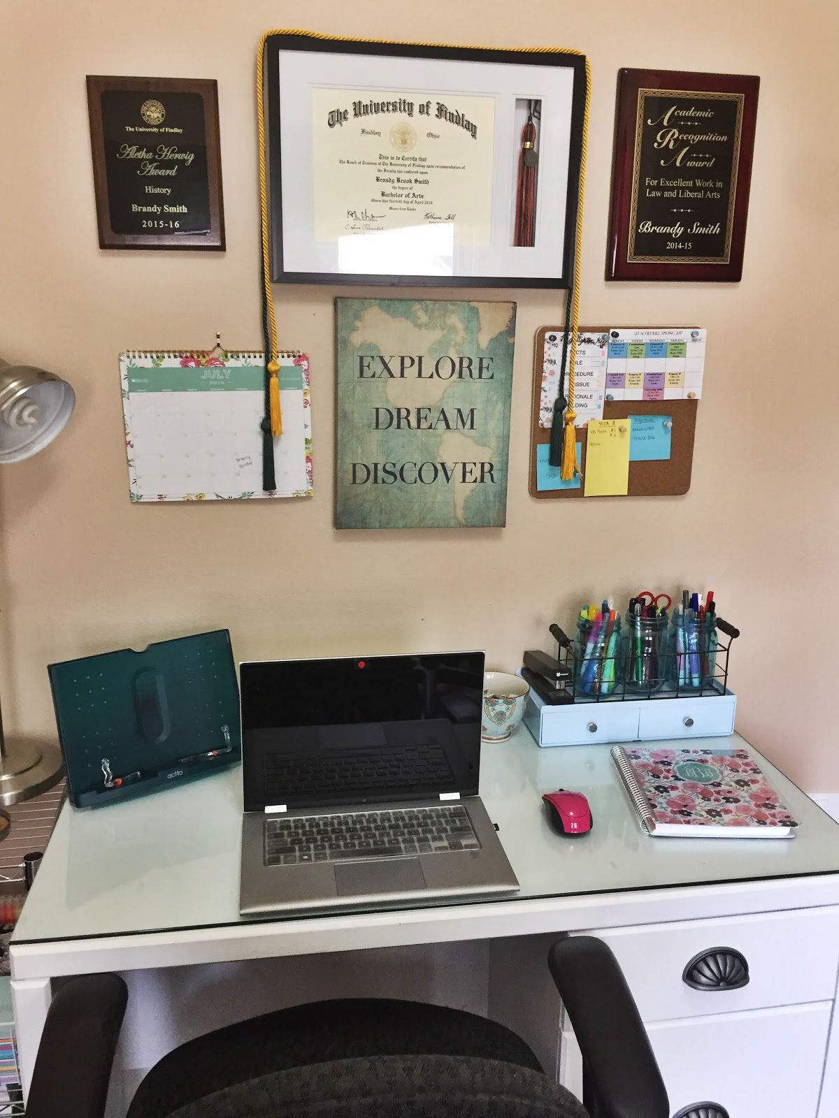 how to set up a study space for law school the legal duchess