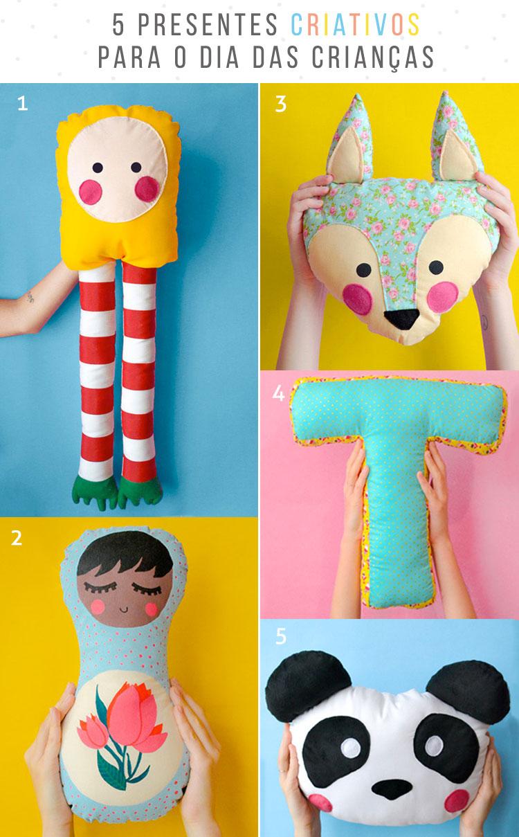 5 presentes criativos para o dia das crianças!