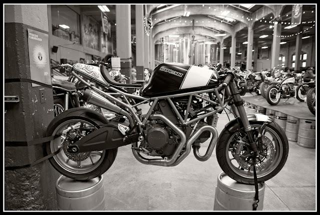 Garage Brewed Motorcycle Show; Motorcycles, Rheingeist Brewery; Cincinnati; Ducati