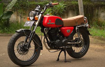 pilih kawasaki w175 atau custom motor sendiri