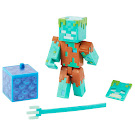Minecraft Drowned Comic Maker Series 3 Figure