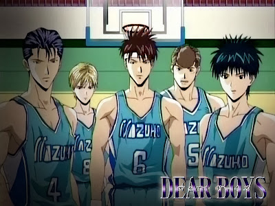 Poster Anime bertema basket Dear Boys