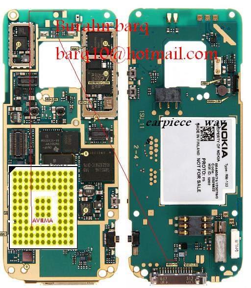 Nokia N73 Speaker Earpiece Problem Picture Help