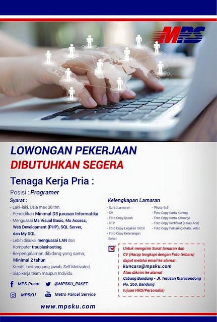 Lowongan Kerja Programmer di Kota Bandung