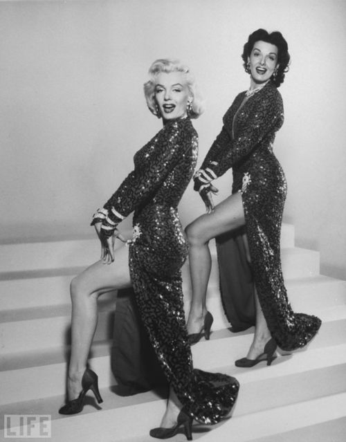Marilyn Monroe And Jane Russell, May 1953  Vintage Everyday-3915