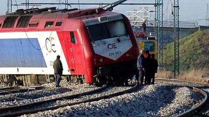Βαγόνι τραίνου εκτροχιάστηκε το πρωί στη Λάρισα