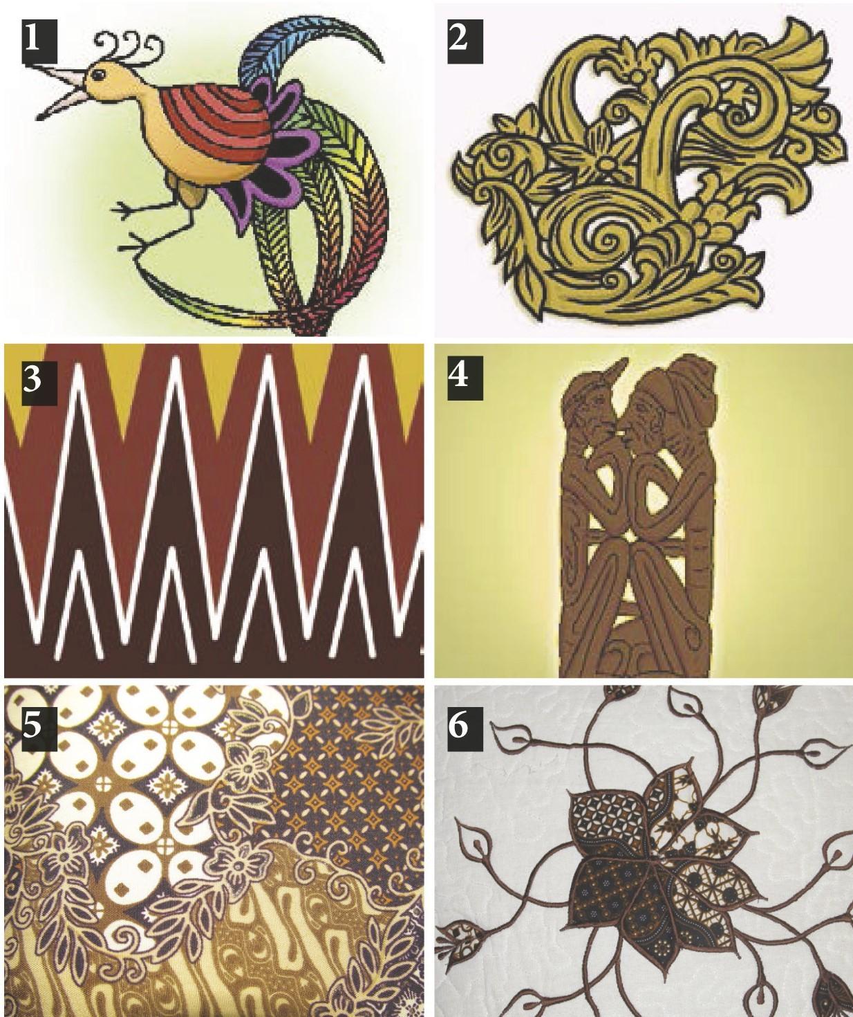 106 Gambar Ragam Hias Sketsa Geometris