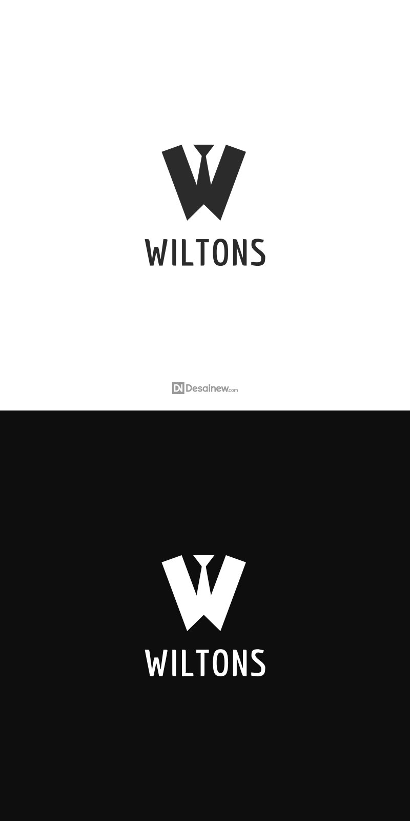 Wiltons Logo Design Project Portfolio Desainew Studio