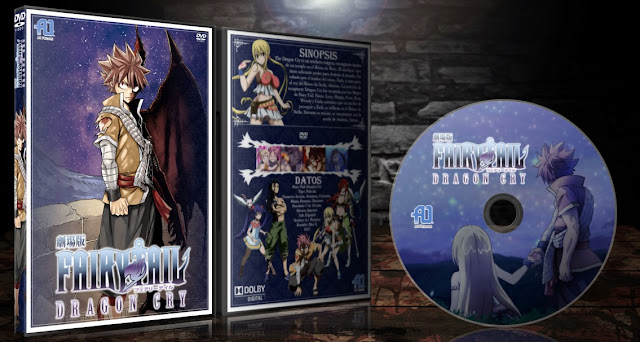 Fairy Tail: Dragon Cry | Cover DVD |