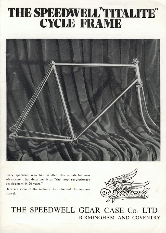 1975 Speedwell Titanium Bicycle | Culture at a Glance: A