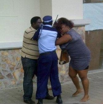 nigerian couples fighting public