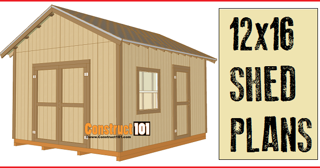 free woodworking plans 12x16 shed how to build a shed 89812