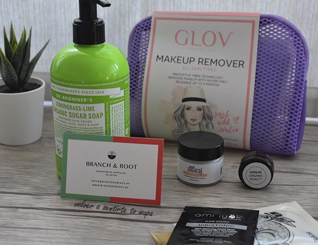 Haul de cosmética natural: tienda online Branch & Root