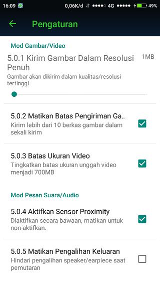 Yo WhatsApp Pengiriman Media