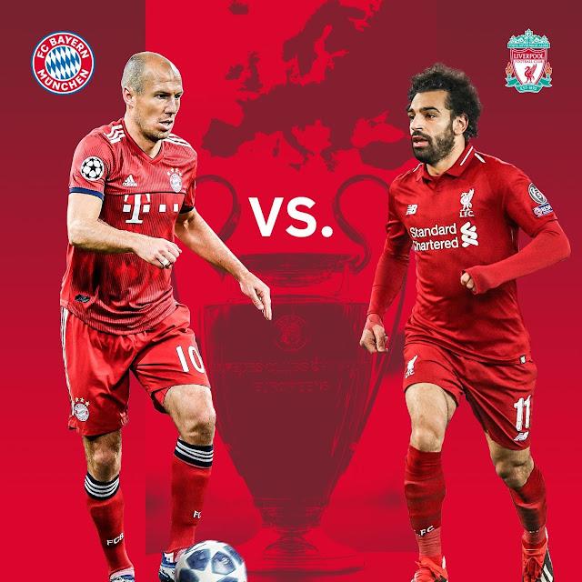 موعد وتوقيت مباراة ليفربول وبايرن ميونخ في دور ال16 من دوري أبطال أوروبا  وتردد قناة قناة ETV الإثيوبية الناقلة للمباراة  مجاناً