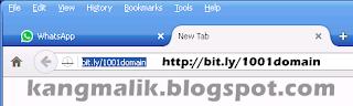 Cara daftar/membuat akun di DOMAINESIA bit.ly/1001domain. Kenapa DOMAINESIA? karena layanan DOMAINESIA Kang Malik Anggap mudah, tangguh, murah (paket litle saja berani UNLIMITED SUBDOMAIN, BANDWIDTH,VMEM, EMAIL,Jumlah Akun,Database,Database. HANYA 8000/bulan). Satu hal lagi, SITUS BERBAHASA INDONESIA,Costumer Service Responsif.