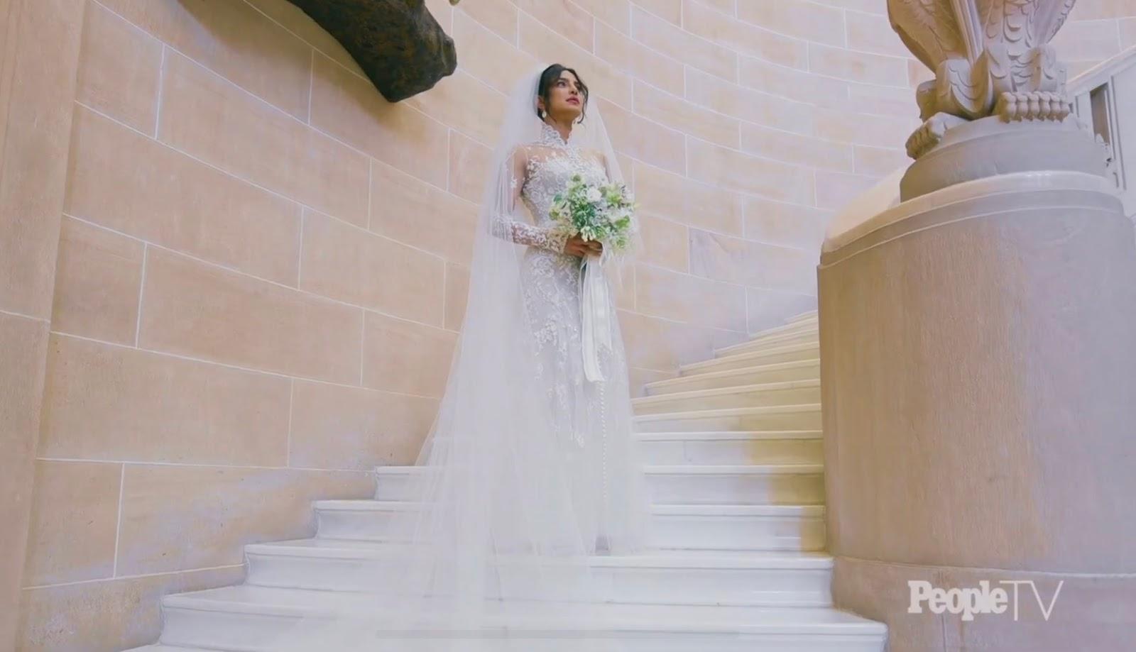 Priyanka Chopra's Wedding Dress: Stuns In Sheer Ralph Lauren Gown To Marry Nick Jonas