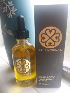 True Moringa Simplicity Body Oil