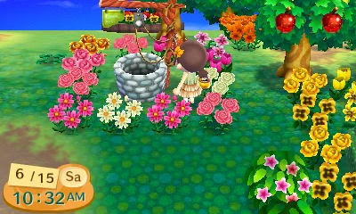 Sixthfore Personal Game Log Animal Crossing New Leaf Hybrid Flowers Guide