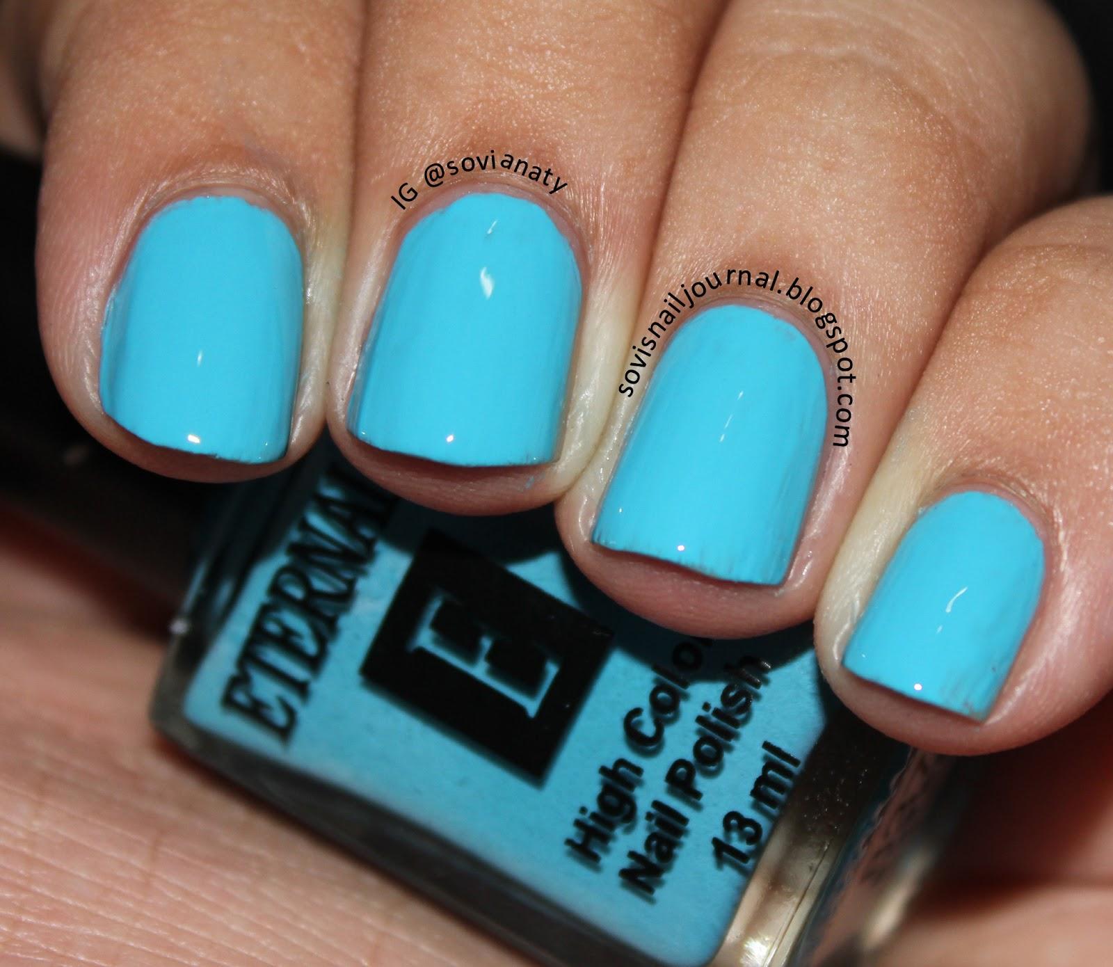 Sovi's Nail Journal: Eternally High Color Nail Polish 837
