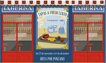 Saborea la Ruta de Tapas a Fuego Lento por Ponzano-Madrid