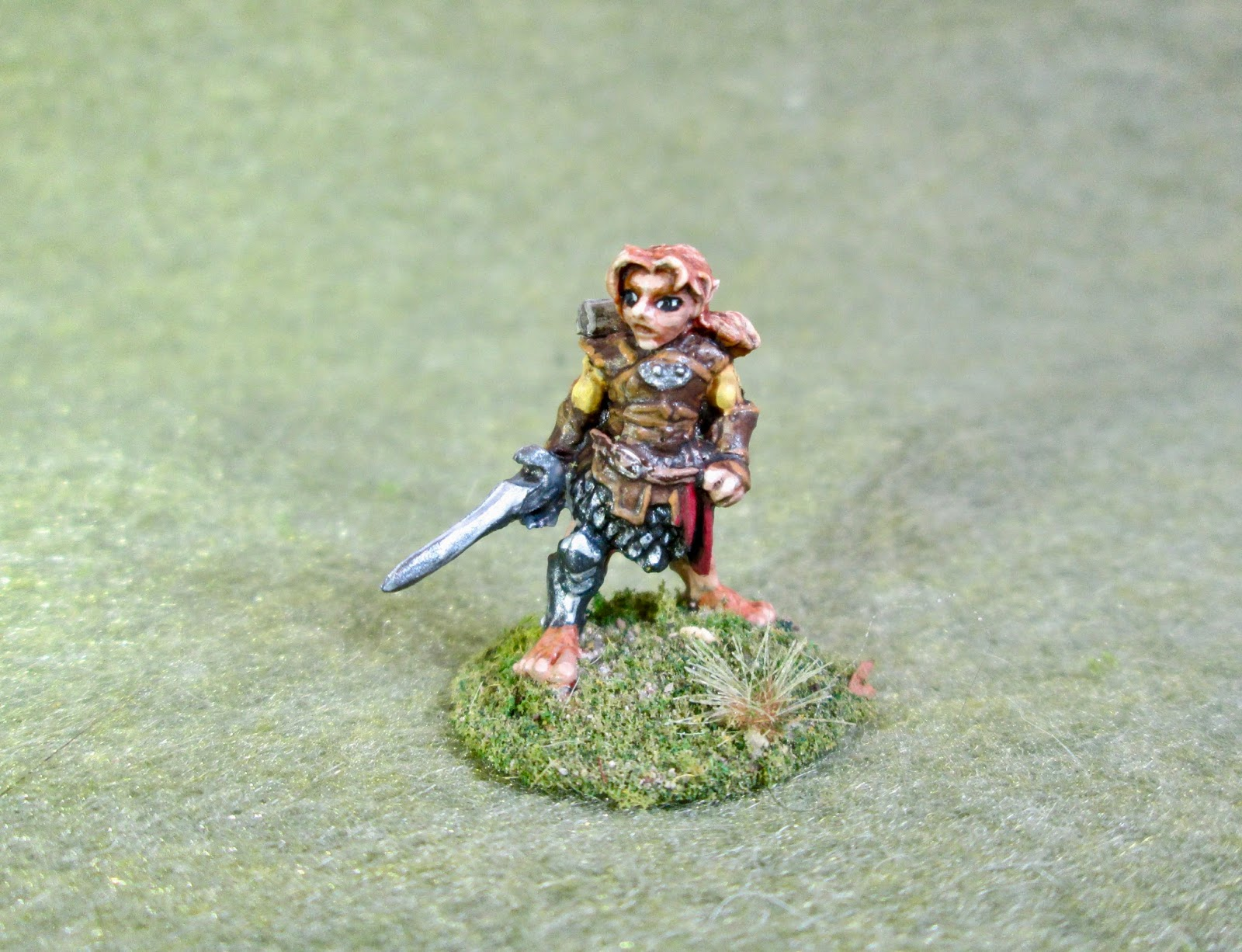 All Bones About It: Dingo, Halfling Rogue: Bones 3 Figure
