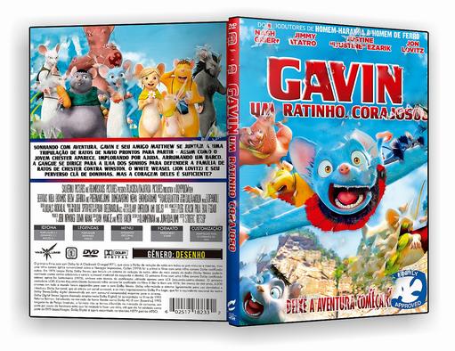 DVD-R GAVIN UM RATINHO CORAJOSO 2018 – OFICIAL