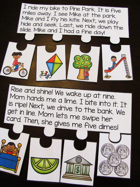 Reading fluency and comprehension puzzles and so many fun reading activities