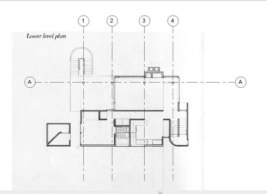 Meier is Reviting: The Smith House Post Two Grid Lines