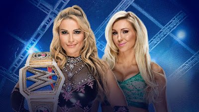 Natalya vs Charlotte Flair Hell in a Cell 2017 SmackDown Women's Championship Match