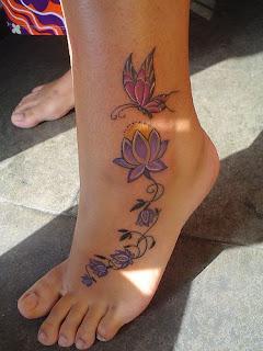 tatuagem colorida feminina