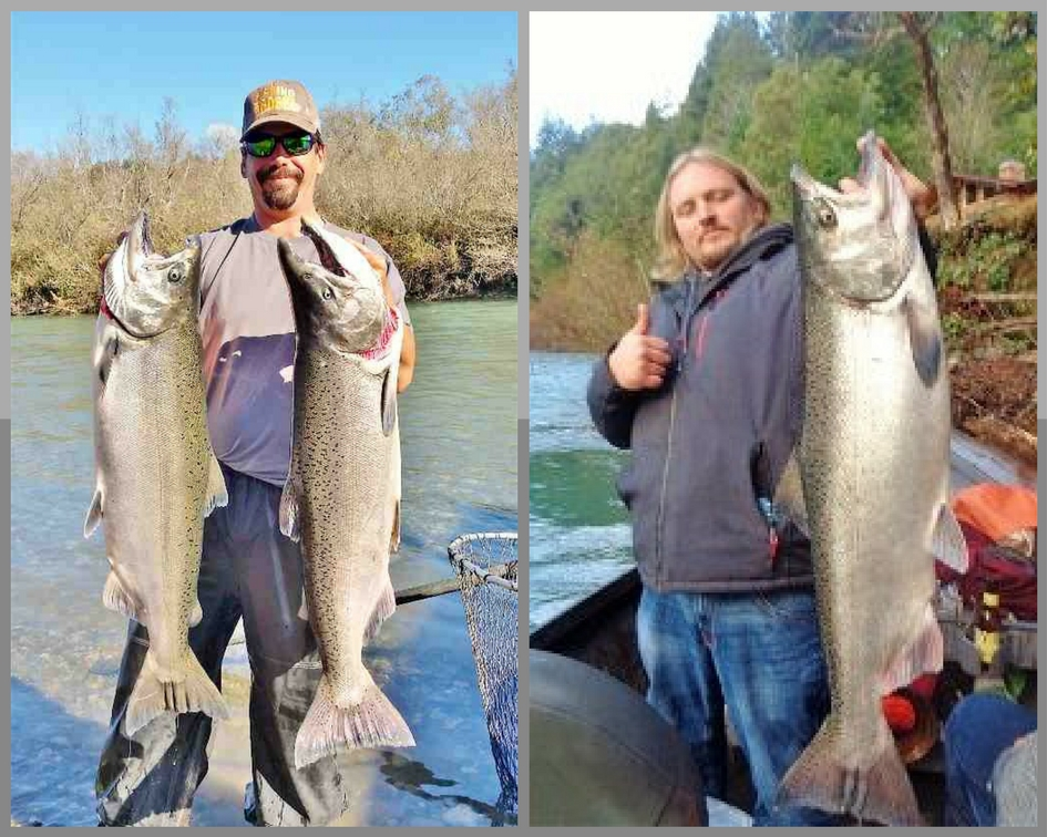 Year round fishing for salmon steelhead on southern for Fishing report oregon
