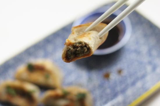 Miso mushroom gyoza recipes