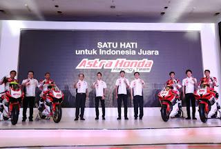 Pebalap Astra Honda Siap Ukir Prestasi untuk Indonesia
