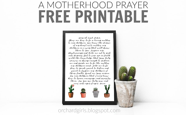 FREE PRINTABLE from www.orchardgirls.blogspot.com