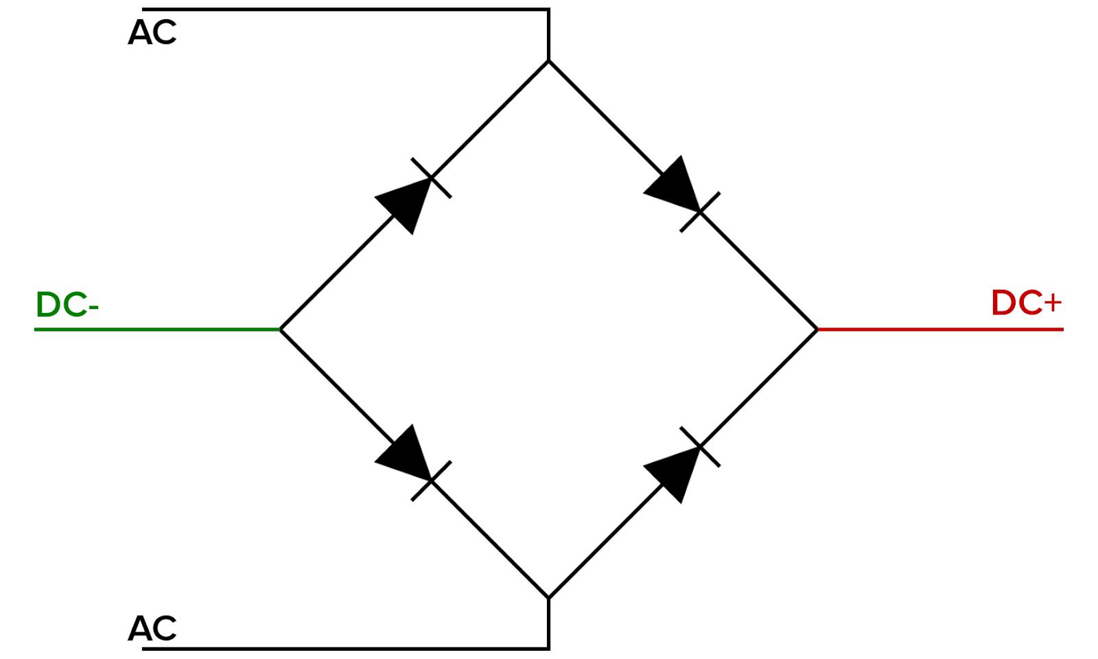 Bridge Rectifier Current Flow