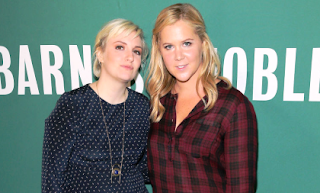 Lena Durham and Amy Schumer