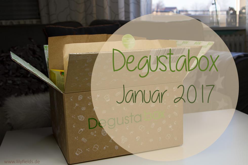 Degustabox - Januar 2017