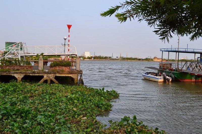 Ho Chi Minh, Fleuve