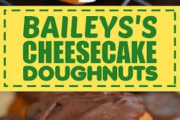 Bailey's Cheesecake Doughnuts