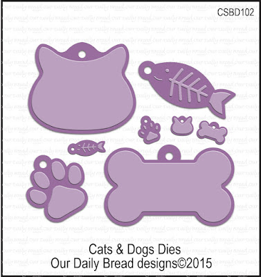 Our Daily Bread Designs Custom Cats and Dogs Dies