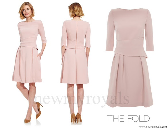 Crown Princess Victoria wore The Fold London camelot dress