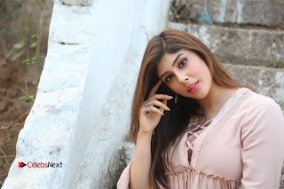 Telugu Actress Aditi Singh Stills in Leather Pants at Nenu Kidnap Iyanu Movie Press Meet  0249.JPG
