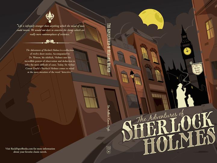 Sherlock Holmes capa livro
