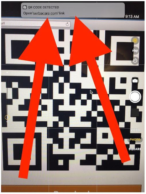 Scan QR iPhone