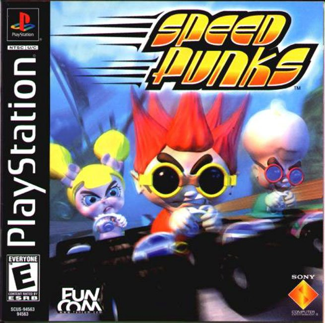 Speed Punks - PS1 - ISOs Download