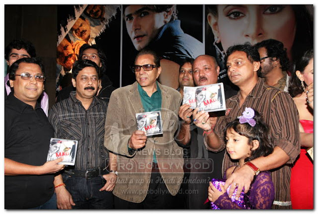 DHARAMJI RELEASES MUSIC OF HINDI FILM MAD