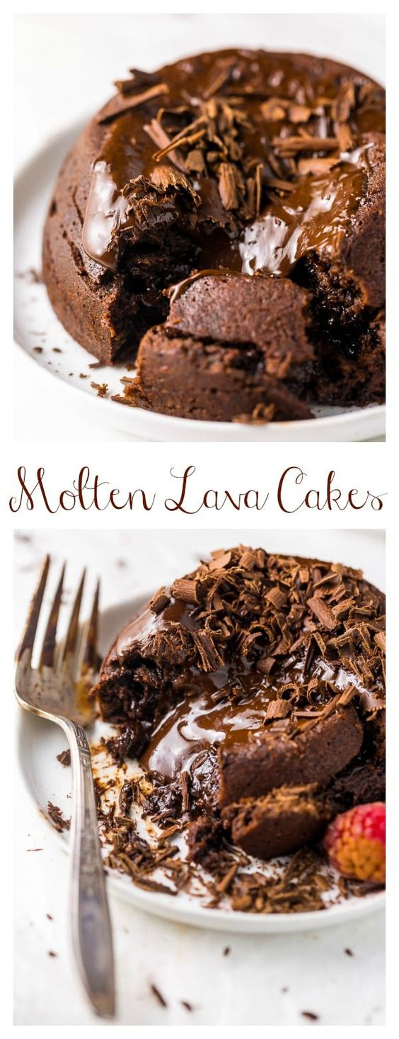 Easy Molten Chocolate Lava Cakes for Two
